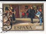 Sellos del Mundo : Europa : España : PINTURA- Presentación de Juan de Austria A Carlos I (E.Rosales)   (G)