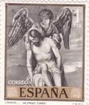 Sellos de Europa - España -  PINTURA -Cristo (Alonso Cano)   (G)