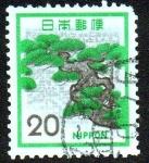 Sellos de Asia - Japón -  Pino japonés