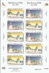 Sellos de America - Chile -  ilesias centenarias