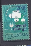 Stamps Indonesia -  energia