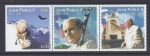 Stamps Chile -  homenaje al papa Juan Pablo II