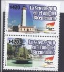 Stamps Chile -  la serena en el año del bicentenario
