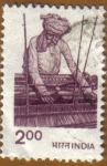 Stamps India -  Tejedor