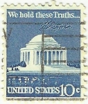 Stamps : America : United_States :  WE HOLD THESE TRUHS ...