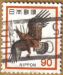 Stamps Japan -  Aguila