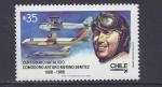 Stamps Chile -  centenario natalicio merino benitez