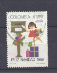 Stamps Colombia -  navidad