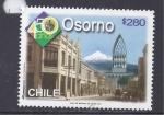 Sellos de America - Chile -  osorno