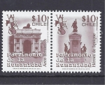 Sellos de America - Chile -  valparaiso patrimonio de la humanidad