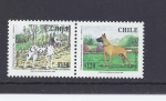 Stamps Chile -  perros