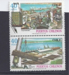 Sellos de America - Chile -  puertos chilenos