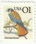 Stamps : America : United_States :  AMERICAN KESTREL