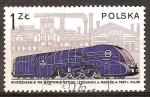 Sellos de Europa - Polonia -   Pm36-1 (1936) y la fábrica de Cegielski, Pozna.