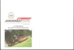 Sellos de Europa - Austria -  Sobre conmemorativo, 120 anivº del Tren de Achensee