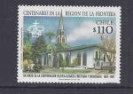 Stamps : America : Chile :  centenario region de la frontera