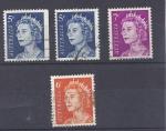 Stamps : Oceania : Australia :  reina isabel