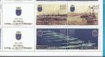 Stamps : America : Chile :  revista naval del bicentenario