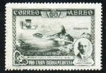 Stamps : Europe : Spain :  Pro Unión Iberoamericana - Sevilla 1930 - Primer vuelo mecánico 1906