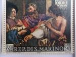 Stamps San Marino -  Pintura.- de: Giovanni Francesco Barbieri (Guercino)