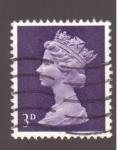 Sellos de Europa - Reino Unido -  reinado de isabel II