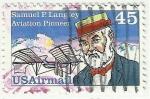 Stamps : America : United_States :  SAMUEL P.LANGDEY  AVIATION PIONEER