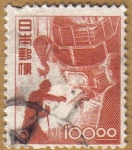 Stamps Japan -  Industria