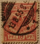 Stamps Germany -  antiguo reich post 1900