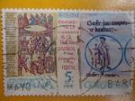 Sellos de Europa - España -  Milenario de la Consagración de la Tercera Basília del Monasterio de Ripoll
