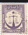 Sellos de Asia - Pakistán -  Balanza