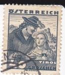 Sellos de Europa - Austria -  Mujer y niña del Tirol