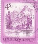 Sellos de Europa - Austria -  Paisajes- Almser