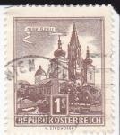 Sellos de Europa - Austria -  Basílica de Mariazell