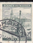 Stamps Czechoslovakia -  Protectorado de Bohémia y Moravia- Olomouc