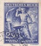 Sellos de Europa - Alemania -  Protectorado de Bohémia y Moravia-