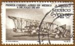 Stamps Mexico -  Aeroplano