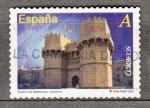 Sellos de Europa - España -  Puerta de Serranos Valencia (693)