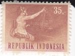 Stamps Indonesia -  Teleoperadora