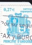 Sellos de Europa - Andorra -  Escudo Andorrano