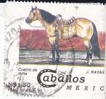 Stamps Mexico -  Caballos