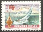 Sellos de Europa - Hungría -  1990 - Lago de Balaton
