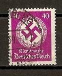 Sellos de Europa - Alemania -  Servicio.