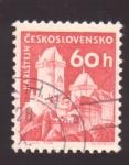 Stamps Czechoslovakia -  Karlstejn
