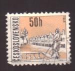 Sellos de Europa - Checoslovaquia -  telc