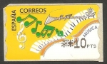 Stamps : Europe : Spain :  ATMs, Música