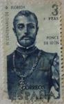 Sellos de Europa - España -  IV centenario de florida 1960