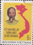 Sellos de Asia - Vietnam -  mapa