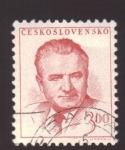 Stamps Czechoslovakia -  klementa gottwalda