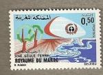 Stamps Morocco -  Una sola tierra