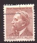 Stamps Czechoslovakia -  karel kovarovic